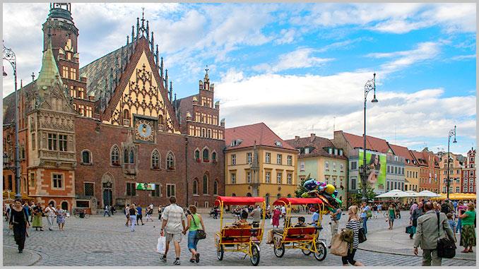 Breslau Sehenswürdigkeiten - Über Polen.de