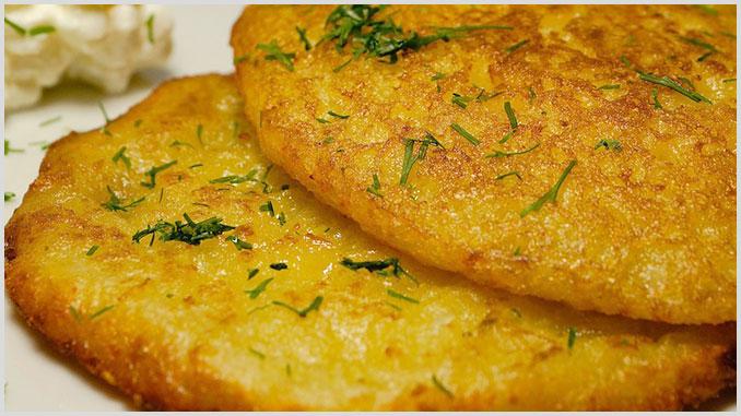 Polnische Kartoffelpuffer